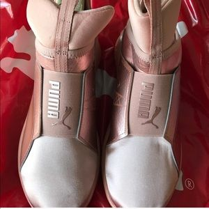 PUMA - Rose Gold Sneakers — Size 9.5